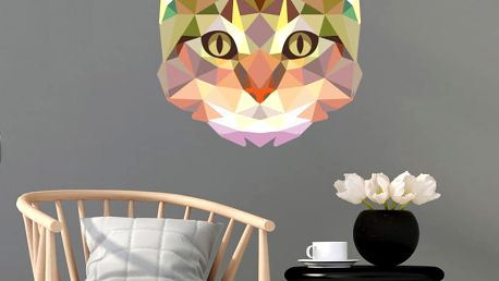 Samolepka Fanastick Origami Cat