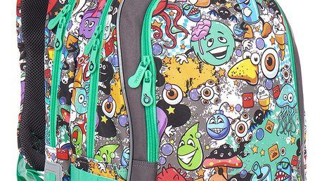 Školní batoh Topgal CHI 846 C - Grey