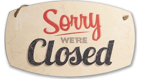 Cedule na stěnu Novita Open or Closed