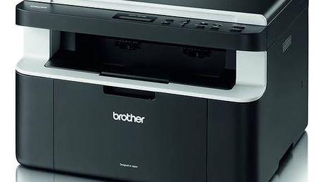 Tiskárna multifunkční Brother DCP-1512E (DCP1512YJ1) černá/šedá Software F-Secure SAFE 6 měsíců pro 3 zařízení (zdarma) + Kabel za zvýhodněnou cenu + Doprava zdarma