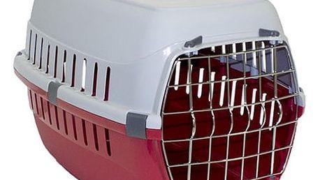 Přepravka Dog Fantasy Carrier 51*31*34cm červená