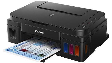 Canon PIXMA G3400, tankový systém, černá - 0630C009