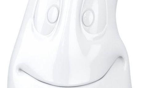 Bílá usměvavá konvice 58products - doprava zdarma!