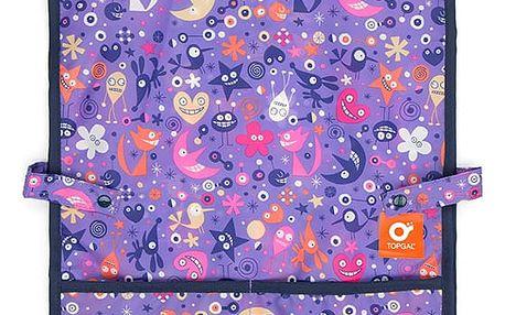 Zástěrka do výtvarné výchovy Topgal TOP 157 I - Violet