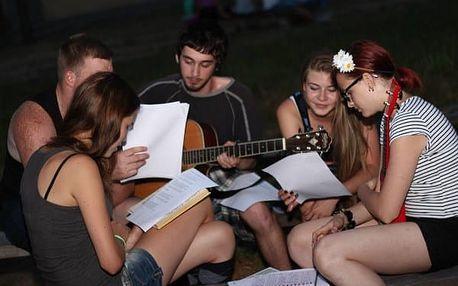 Hudební tábor v jižních čechách