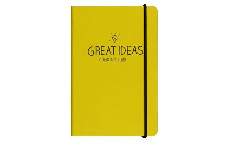 Notes A6 Happy Jackson Great Ideas Yellow