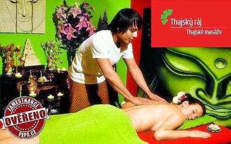 Výběr masáží pro 2 s rybičkami Garra Rufa v salonech Thajský ráj v Praze