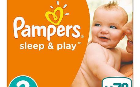 Pampers Sleep&Play 3 MIDI, 78ks