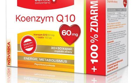 CEMIO Koenzym Q10 60mg 30 + 30 kapslí ZDARMA