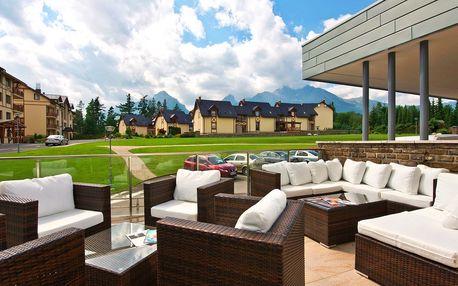 Luxus pod Tatrami: wellnes pobyt se spa relaxem
