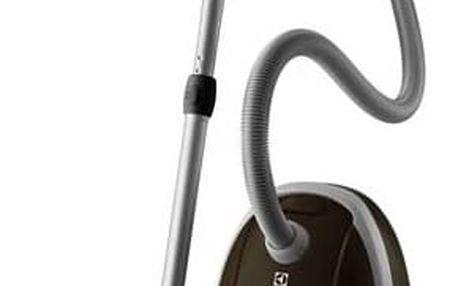 Vysavač podlahový Electrolux Classic Silence ZCS2260CEL hnědý + Doprava zdarma