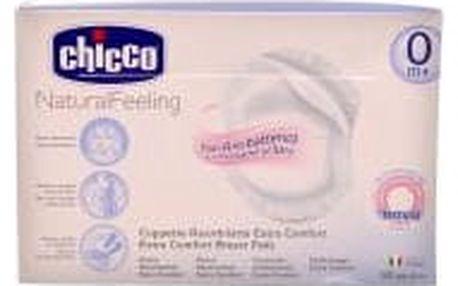 CHICCO Antibakteriální tampóny do podprsenky 60 kusů