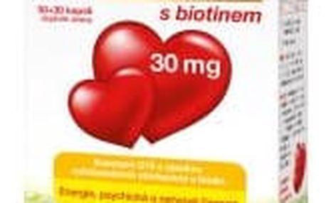 GS Koenzym Q10 30 mg 30 + 30 kapslí ZDARMA