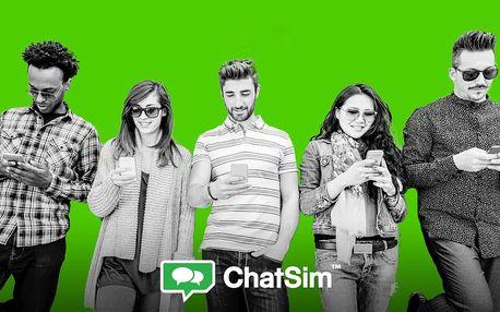 ChatSim pro celoroční chatovaní z celého světa