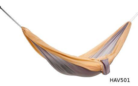 Cestovní houpací síť DUVLAN 220 x 140 cm Barva: HAV501