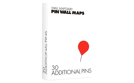 Náhradní špendlíky pro Pin World mapy, 30 ks