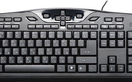 CONNECT IT CI-214 s multimediálními tlačítky, RU