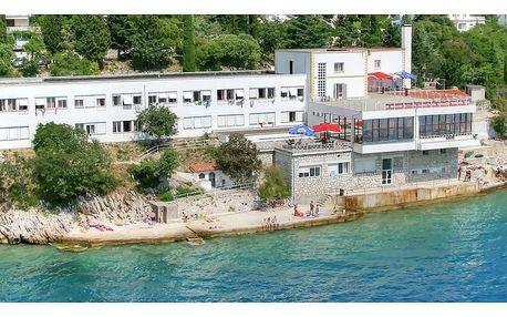 Chorvatsko - Crikvenica na 8 dní, plná penze s dopravou vlastní