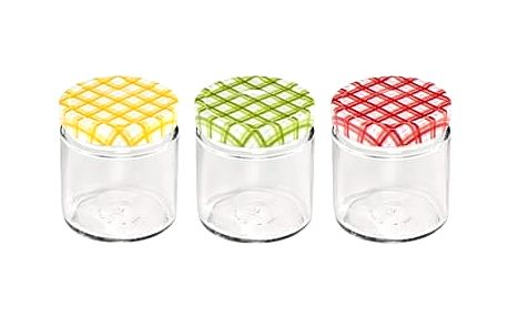 Zavařovací sklenice DELLA CASA 400 ml, 3 ks