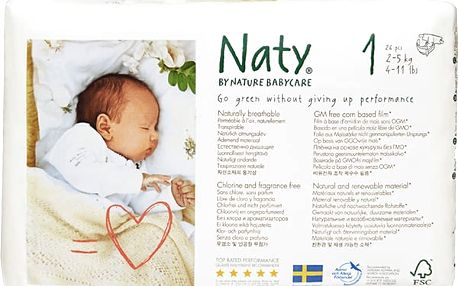 NATY NATURE BABYCARE 1 NEWBORN, 26 ks (2-5 kg)