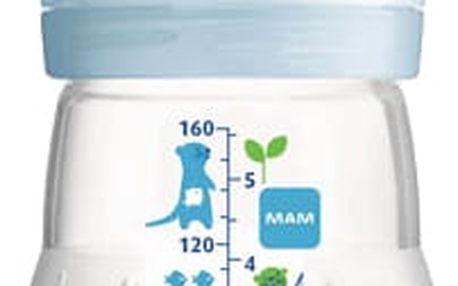 MAM Láhev anti-colic 160ml, 0+ měsíců – modrá