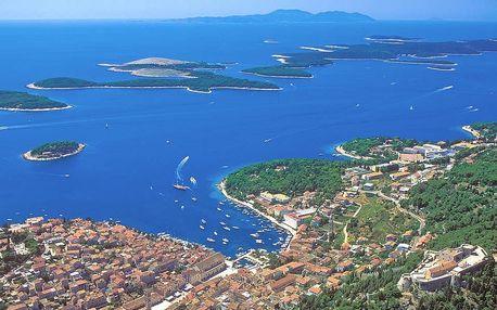 Týden na chorvatském ostrově Hvar vč. polopenze
