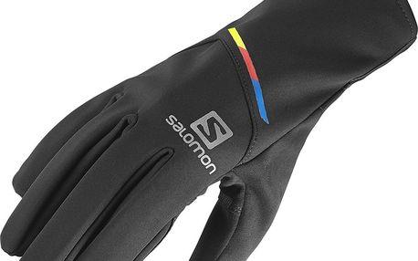 Sportovní rukavice Salomon Elite Glove, černé, XL