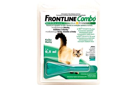 Frontline Combo Spot-on Cats sol 1x0,5ml !