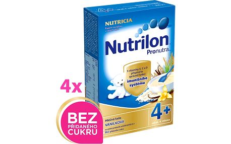 4x NUTRILON ProNutra vanilková (225g) - mléčná kaše