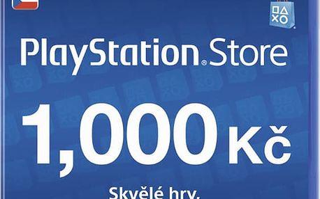 Playstation Network Card - 1000 Kč - PS719894032