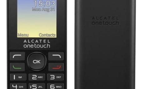 Mobilní telefon ALCATEL 1016G (1016G-3AALCZ1) černý