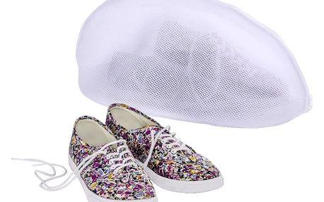 Bílá síťka na praní bot Wenko
