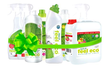 Feel eco Výhodný balíček s 5l prostředkem na nádobí