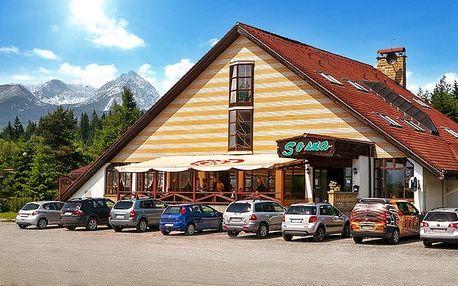 2–6denní pobyt pro 2 s polopenzí ve Vysokých Tatrách v hotelu Sosna