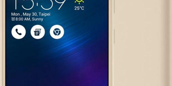 ASUS ZenFone 3 Max ZC520TL-4G076WW, zlatá - 90AX0085-M02070
