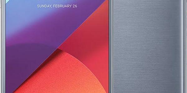 LG G6 - 32GB, stříbrná + Zdarma GSM reproduktor Accent Funky Sound, červená (v ceně 299,-)