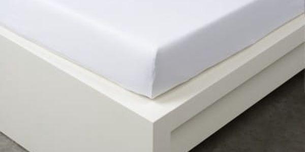 XPOSE ® Jersey prostěradlo dvoulůžko - bílá 180x200 cm