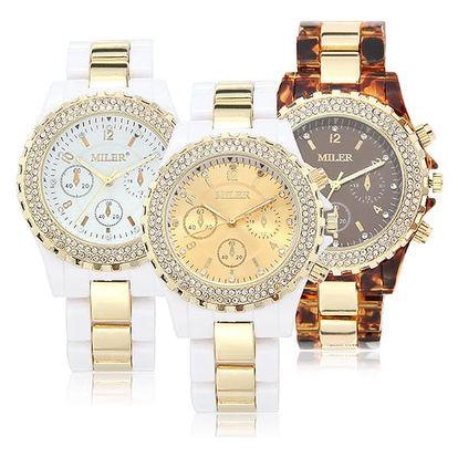 Sportovně elegantní dámské hodinky