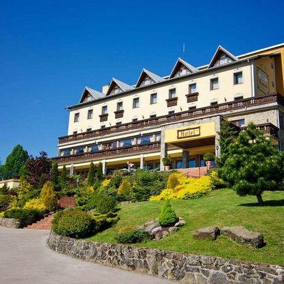 3 dny odpočinku v srdci Kysuc v Hotelu Husárik **** s dítětem do 12 let zdarma