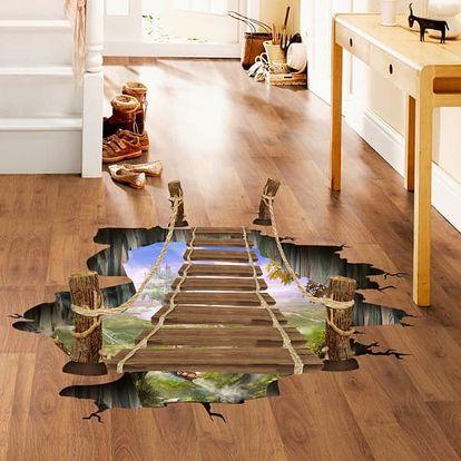 3D samolepka na podlahu Adventure