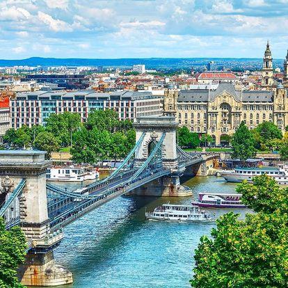 Budapešť plná relaxu v 4 * hotelu se saunou a s jacuzzi