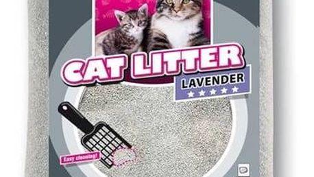 Kočkolit Karlie pro kočky levandule 15 kg