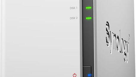 Synology DS216se DiskStation + Programová nabídka Zapni TV k Synology
