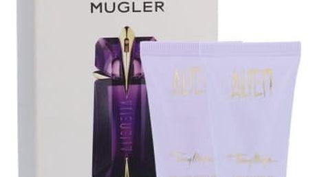 Thierry Mugler Alien dárková kazeta pro ženy tělové mléko 30 ml + sprchový gel 30 ml