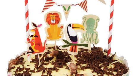 Sada pro zdobení dortů Rex London Colourful Creatures