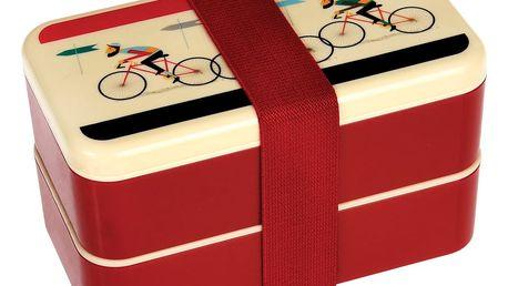 Obědový box s příborem a gumičkou Rex London Le Bicycle