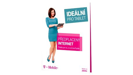 T-Mobile SIM s kreditem 200Kč Twist Online Internet