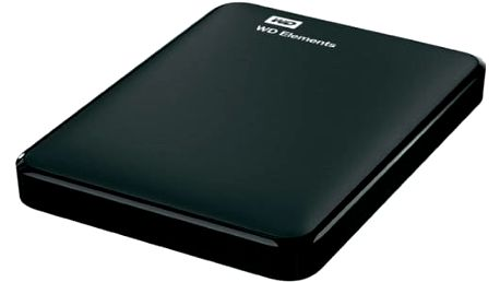 """Externí pevný disk 2,5"""" Western Digital 1TB (WDBUZG0010BBK-WESN) černý"""