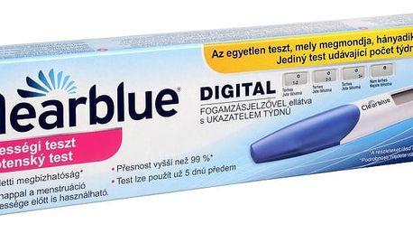 Těhotenský test Clearblue s digitálním indikátorem početí