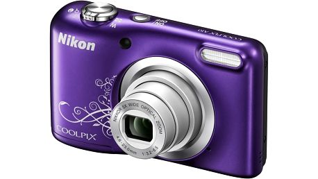 Nikon Coolpix A10, fialová - VNA983E1